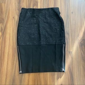 Aritzia Wilfred stretch pencil skirt